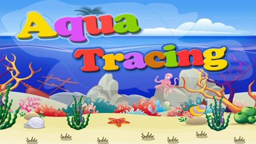 Aqua ABC Tracing Free