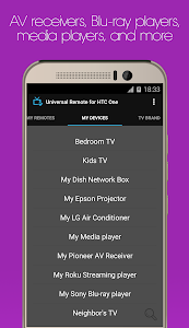 Universal Remote for HTC One screenshot 4