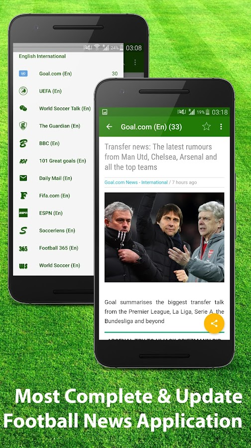 Football News & Scores- screenshot