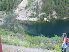 Photo: The lower Kolsai lake