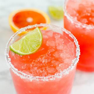 Skinny Blood Orange Margaritas.