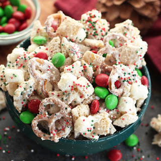 Christmas Chex™ Party Mix Recipe