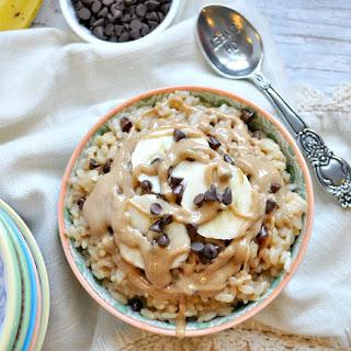 Healthy Chunky Monkey Rice Bowl