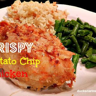 Crispy Potato Chip Chicken