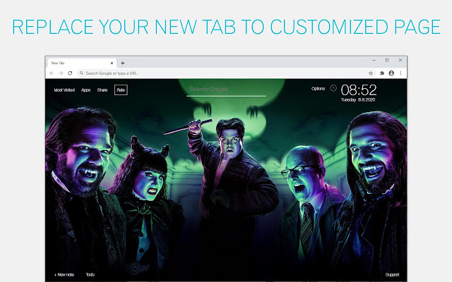 What We Do In The Shadows Wallpaper HD What We Do In The Shadows New Tab