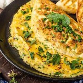 Simple Spanish Omelette.