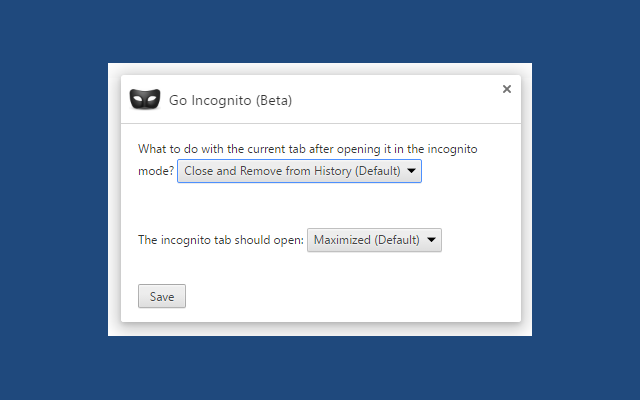 How to go in incognito