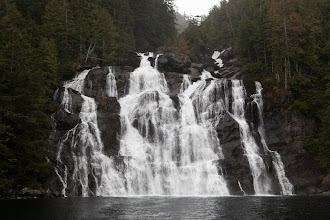 Photo: The widest waterfall on our trip.