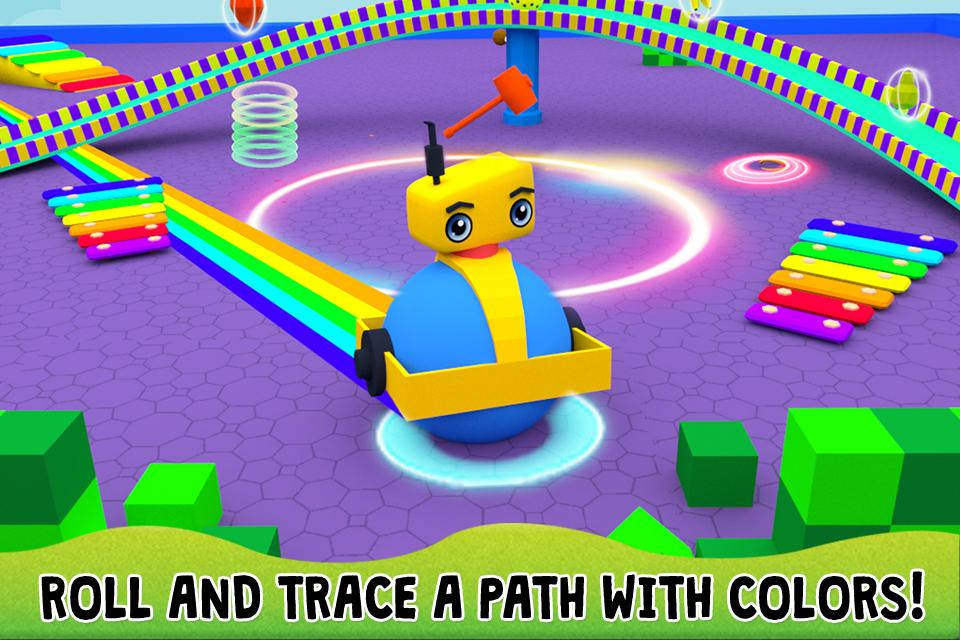 3D Robots Game for Kids FREE- screenshot