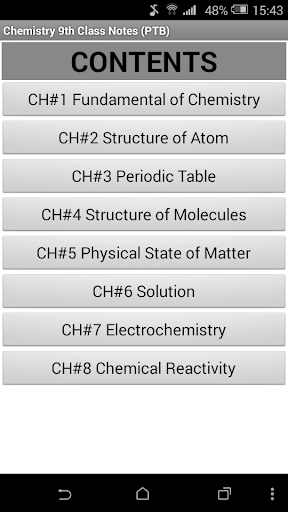 Chemistry Book 9th Class