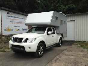 Photo: Diese 2013er Nordstar Camp-Flex ist nun auf einem Navara D40 Kingcab unterwegs.  Infos zur Nordstar Camp Flex finden Sie hier: http://www.nordstar.de/nordstar-modelle/camp-flex/index.html