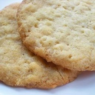 Coconut Butter Cookies.