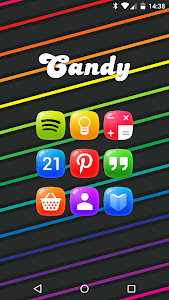 Candy - icon pack screenshot 17