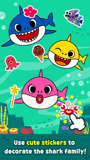 Pinkfong Baby Shark Coloring Book screenshot 5