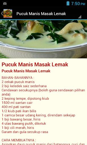 Resepi Sayur Sayuran