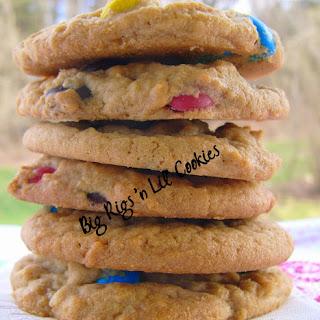 Peanut Butter M&M's Cookies