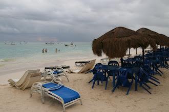 Photo: Schöner Strand, aber auch hier Enge