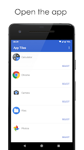 App Tiles - Launch Your Favorite Apps Faster Screenshot