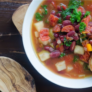 Simplest Bean and Vegetable Soup.