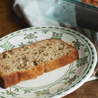 Banana Date Walnut Bread (grain-free).
