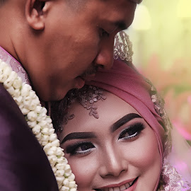by Lay Sulaiman - Wedding Bride & Groom ( couple, people,  )