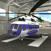 Police Helicopter Flying Simulator