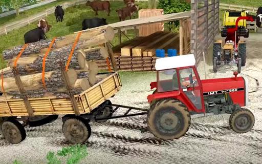 Drive Tractor trolley Offroad :Cargo simulator 1.01 screenshots 2
