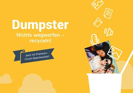 Dumpster Papierkorb Screenshot
