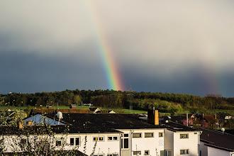 Photo: Ein Regenbogen über Singlis #365tageinsew www.ur-sew.de/365tage (c) Hartmut Volze