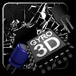 Cracked Screen Gyro 3D Parallax Wallpaper HD Icon