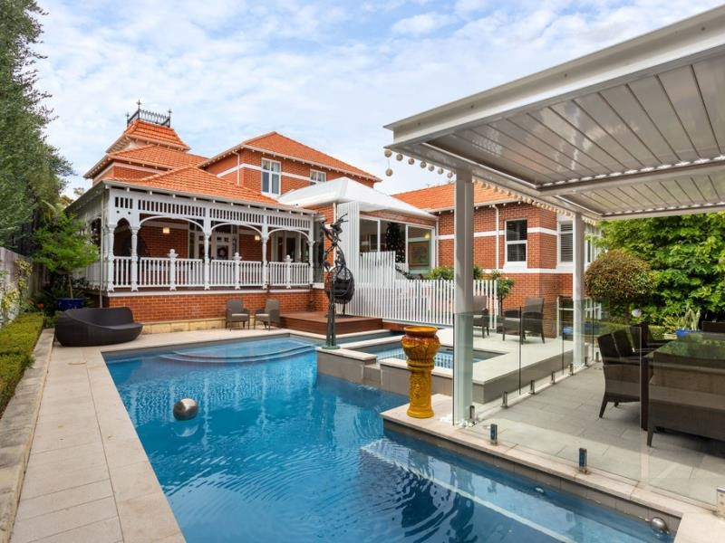Taroona, 62 Leake Street, Peppermint Grove WA , showing recent additions.