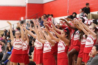 Watson Cheerleaders Cheering