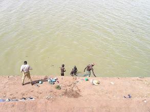 Photo: kąpiel w Nigrze w porcie