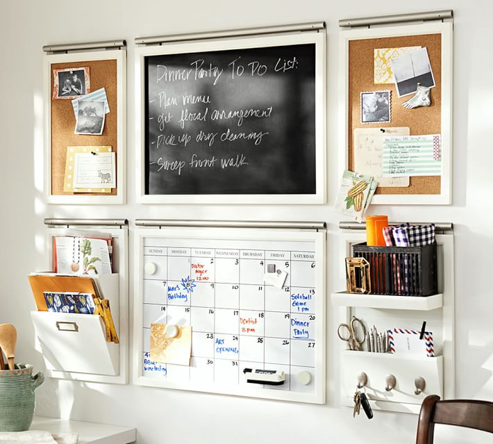 These Command Centers Will Keep The Whole Family Organized