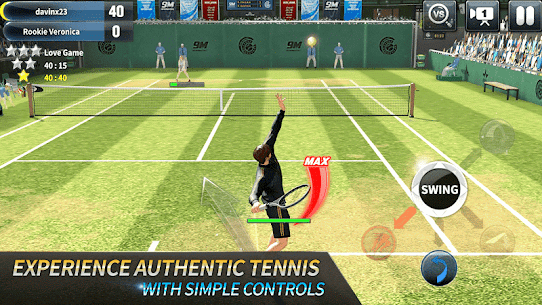 Ultimate Tennis: 3D online sports game 1