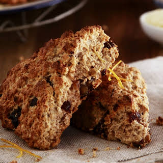 Wholemeal Date and Orange Scones.