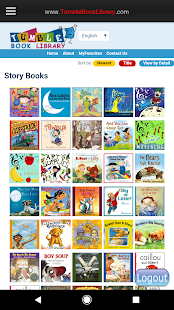 Tumblebooks- screenshot thumbnail