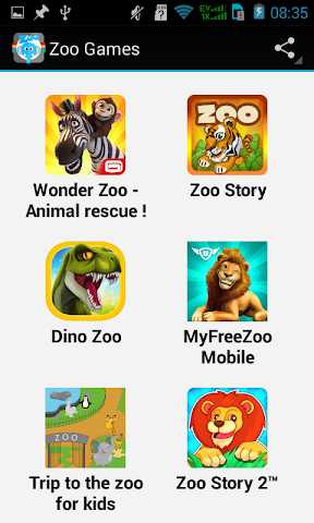 android Top Zoo Games Screenshot 0