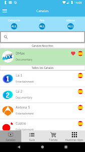 Spain Television Channels - Watch Spanish Live TV 1 0 6 + (AdFree