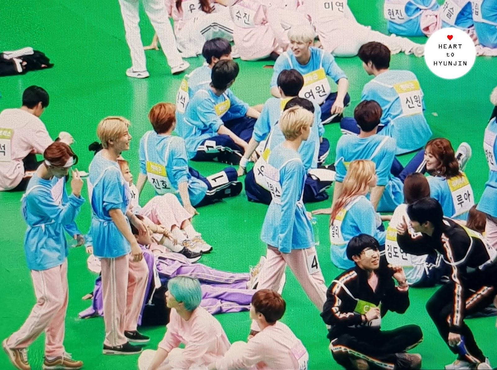 stray kids hyunjin cix bae jinyoung 1