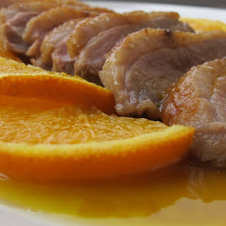 Orange and Honey Duck.
