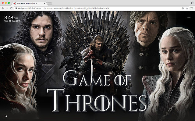 Game of Thrones Wallpaper Background New Tab