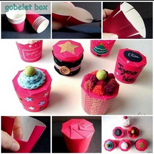 DIY easy gift box tutorial