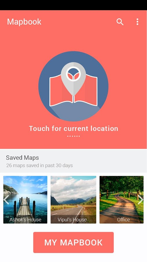 Mapbook - Personal Maps- screenshot