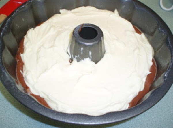 Pour over batter in the pan; spoon reserved batter over cream cheese mixture and...