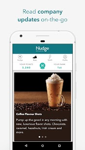 Nudge Rewards - náhled