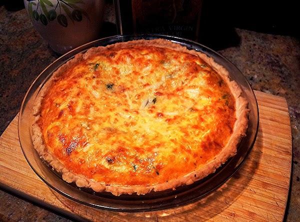 Ricotta & Broccoli Rabe Pie Recipe