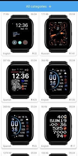 Amazfit GTS - WatchFaces für Amazfit GTS-Screenshots 1
