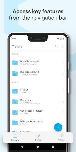 Tresorit screenshot 4