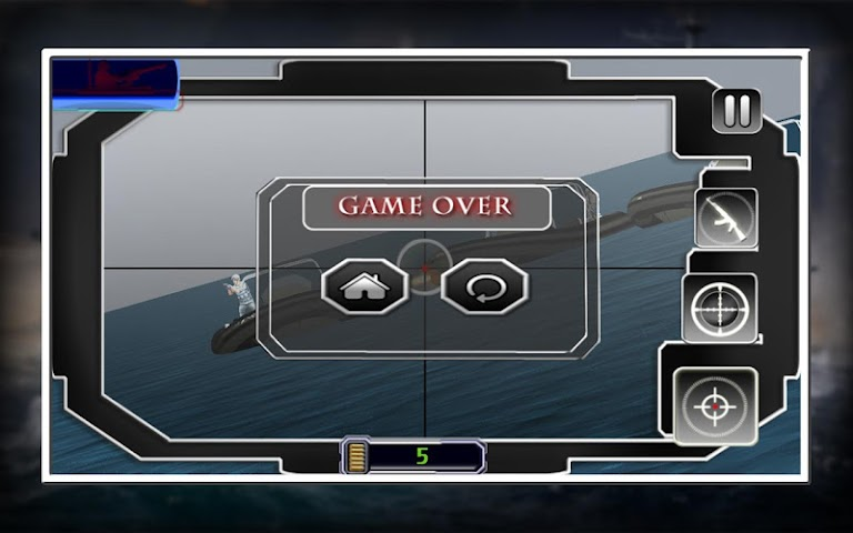 android Sniper X Marine Blitz Screenshot 15